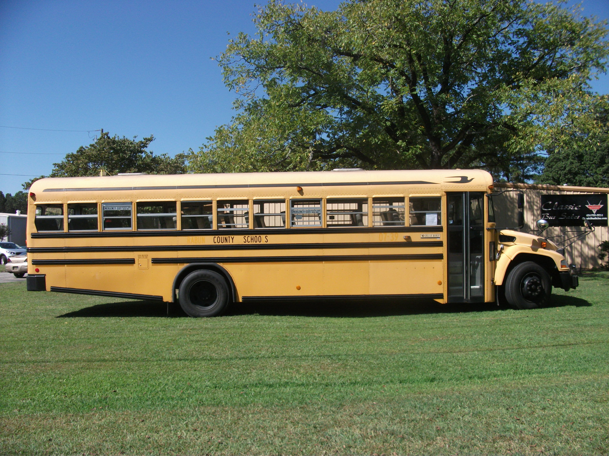2008 Blue Bird - AH718 - Classic Bus Sales - Used Buses for